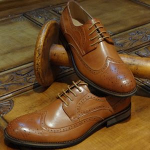 Excecutive Tan Brogues Shoes