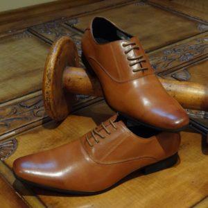 Tan Lace up Shoes