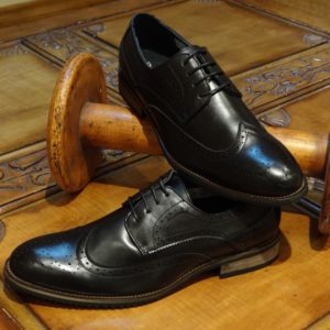 Executive Black Brogues Shoes