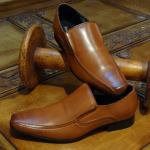 Tan Slip-on Shoes