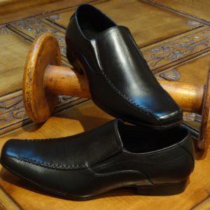 Black Slip-on Shoes