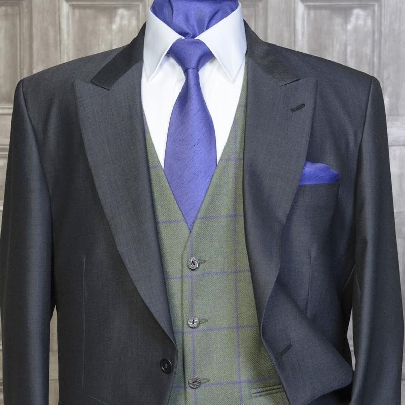 Tweed Green / Violet