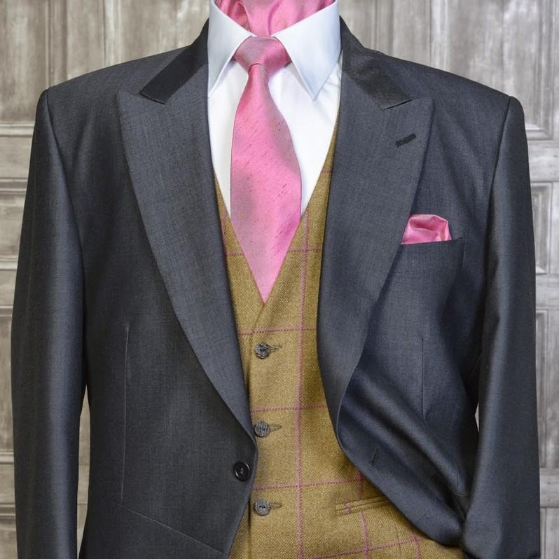 Tweed Gold / Pink