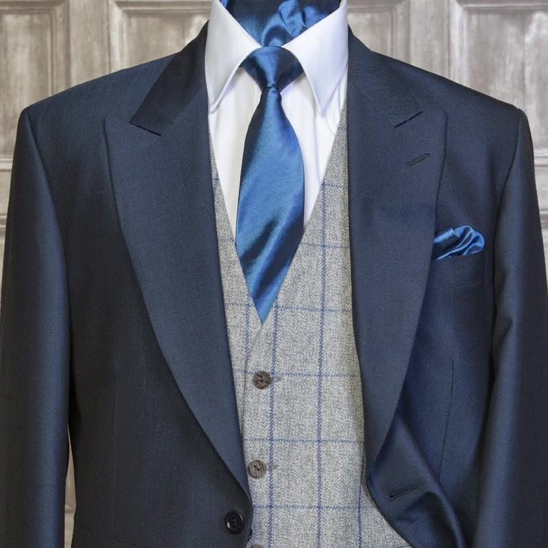 Tweed Silver / Blue