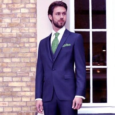 Wilvorst Blue Executive Suit