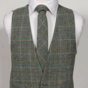 Harris-Tweed-Green-and-Gold