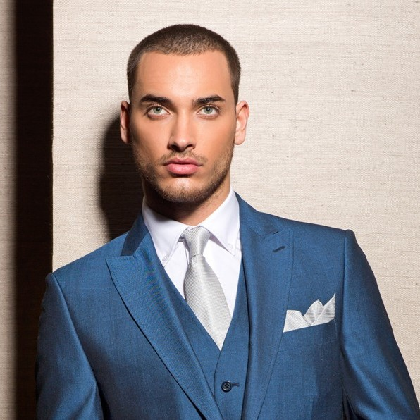 Royal Blue Slim Fit Lounge Suit