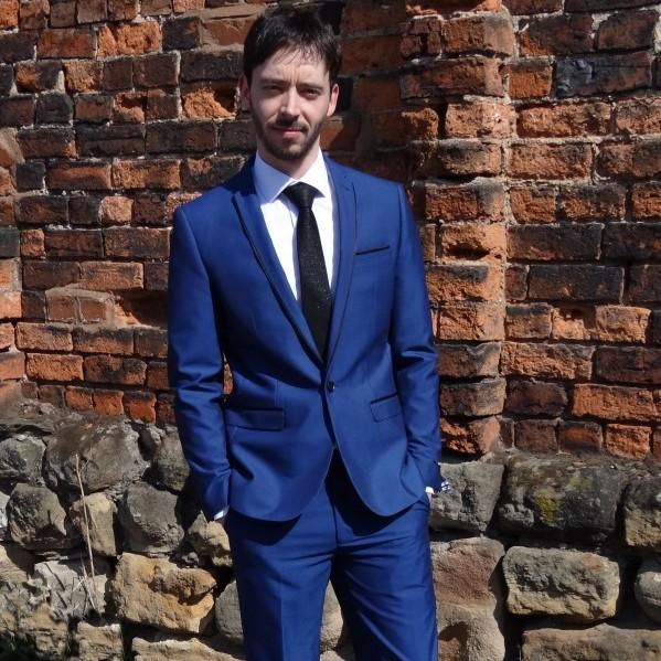 Royal Blue Prom Suit