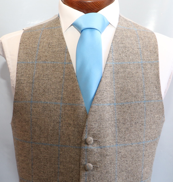 Anthony Grey Blue Tweed