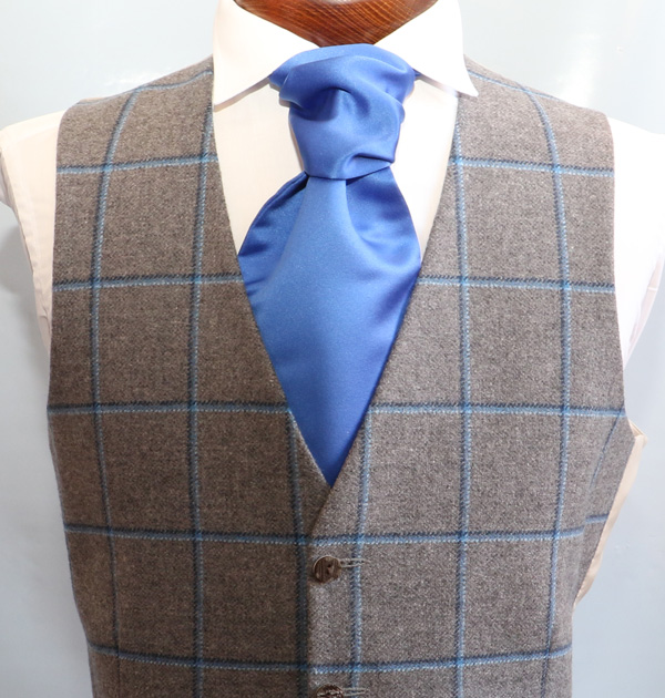 Charcoal Blue Tweed