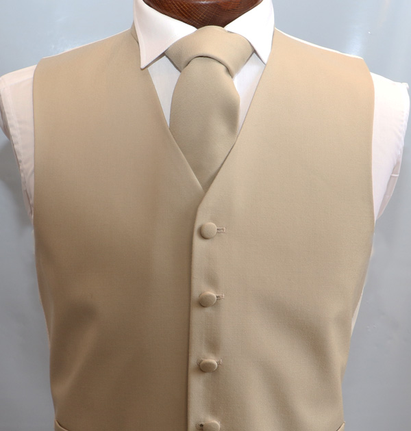 Gold Wool Single Breasted