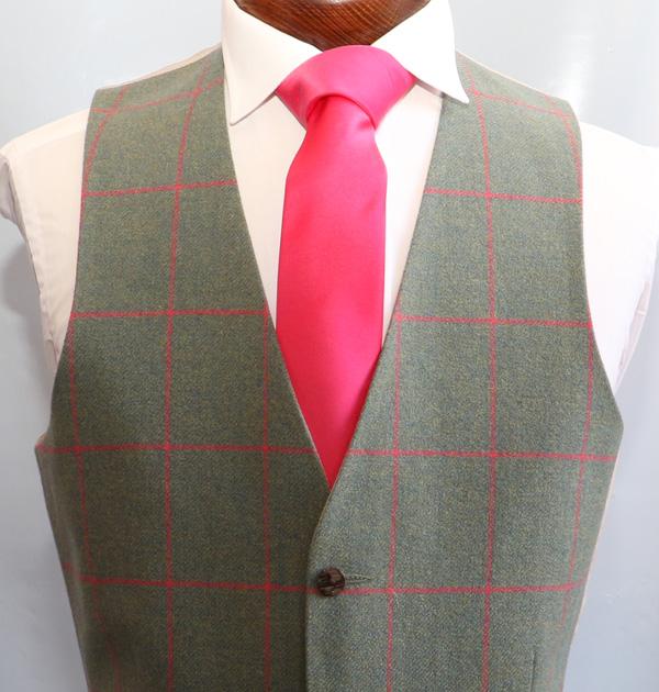 Sage Pink Tweed