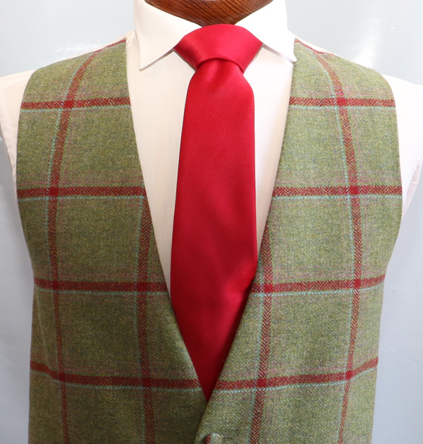 Green Red Tweed
