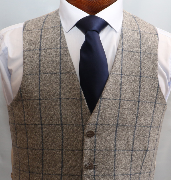 Silver Blue Tweed